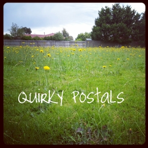 Quirky Postals - the Tumblr to keep me walking. http://quirkypostals.tumblr.com/