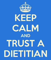 Dietitians love cake too, I promise.