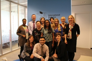 Proof that it wasn't all a dream! DECS team at the IDF headquarters.